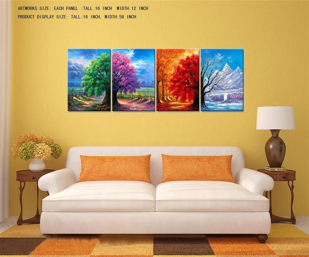 Unique 4 Seasons Wall Art Photo - Wall Art Ideas - dochista.info