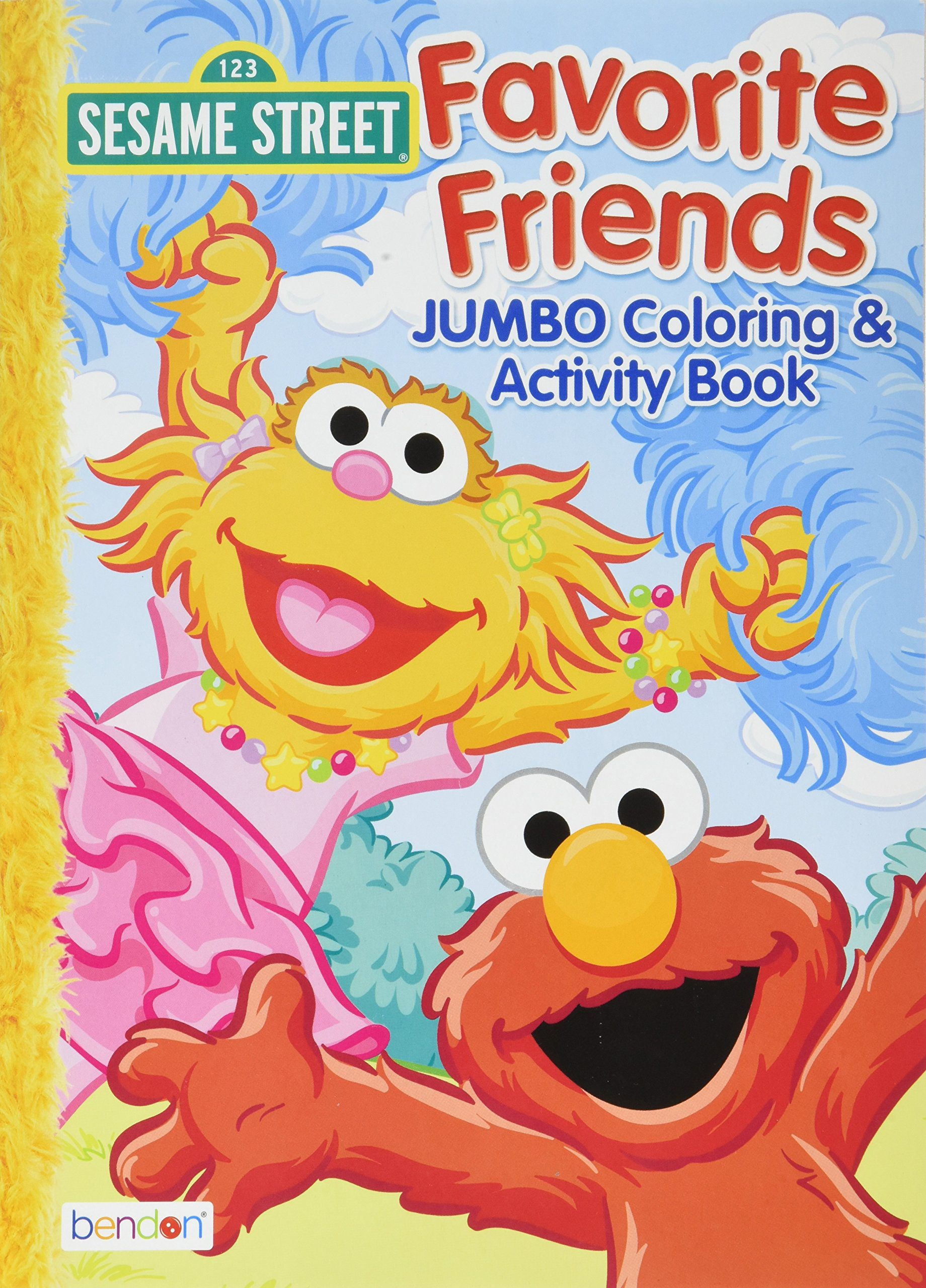Deals Finders | Amazon : Sesame Street Coloring Book Paperback Just ...
