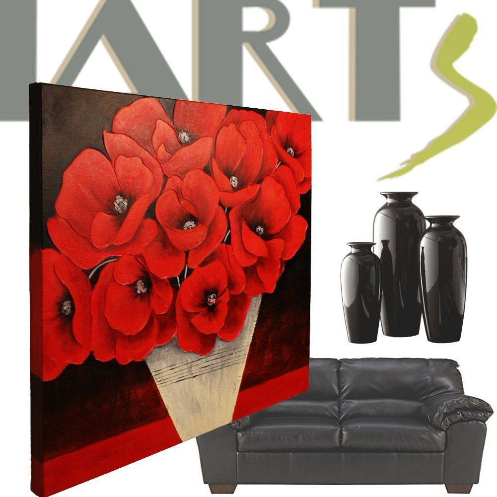 Deals finders amazon canvas wall art 100 handmade contemporary deals finders amazon canvas wall art 100 handmade contemporary poppy flowers oil paintings 36 inches large pre stretched with frame just 1999 wcode mightylinksfo