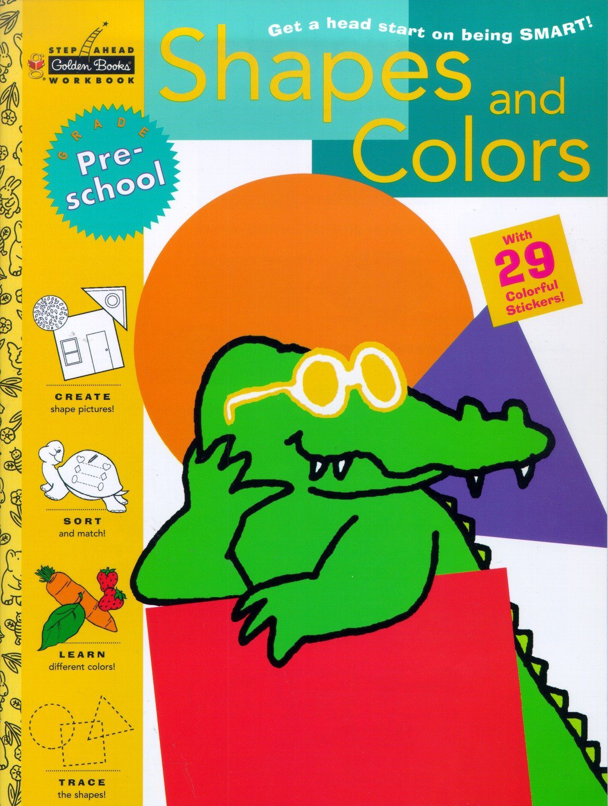 Deals Finders | Amazon : Shapes and Colors (Preschool) (Step Ahead ...