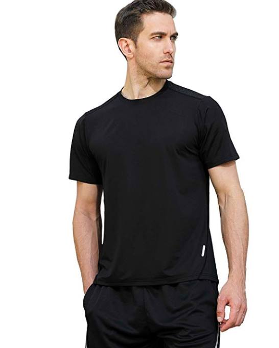 6423cc9cc573 Amazon  Dry Fit Mesh Athletic Shirts Short Sleeve Sports T-Shirt for Men s    Women for  6.39 W Code (Reg   12.99)