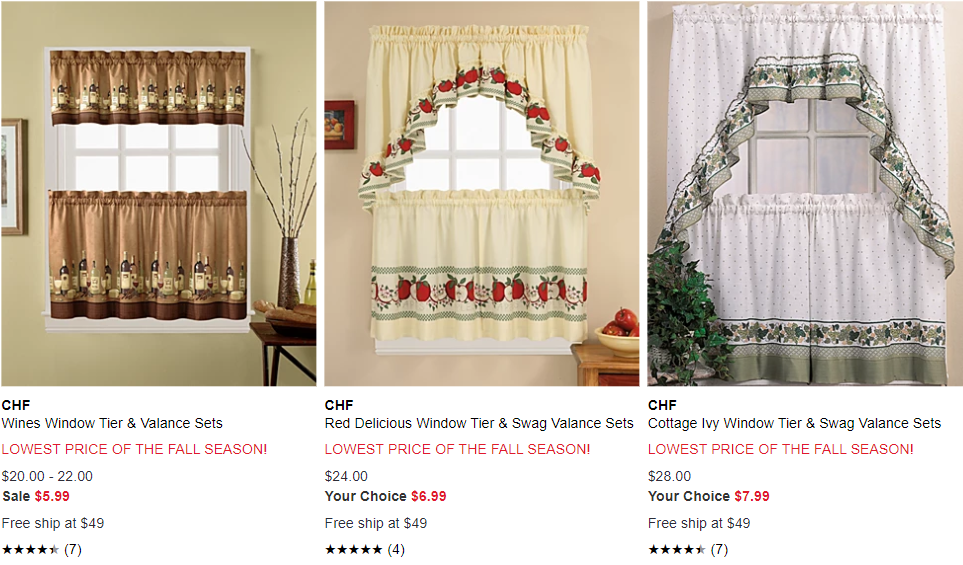 Deals Finders   Macy\'s : Kitchen Curtain Set Just From $5.99 ...