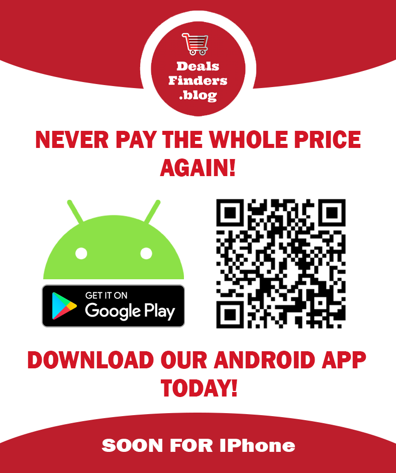 Deals Finders Android App